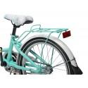 """Rower Flowers 20""""biało fioletowy"""