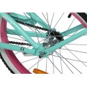 "ROWEREK 20"" Cruiser ArtPol kolor fioletowy"