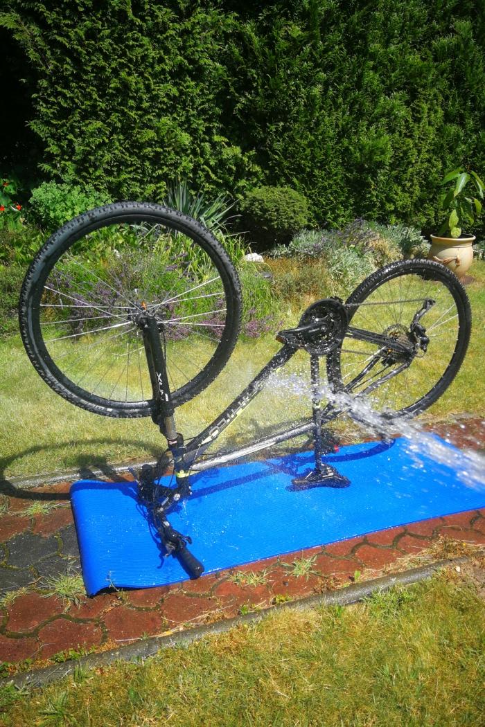Mycie rowera